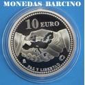 2005 - ESPAÑA -10 EUROS - paz y libertad