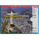 2016 - ESLOVAQUIA - EUROS- BLISTER-OLIMPIADAS