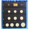 2016 - PARDO - HOJA  COLECCION  EUROS