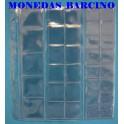 HOJAS PARA MONEDAS - 33 DEPARTAMENTOS