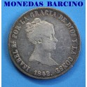 1842 - MADRID - 10 REALES - ISABEL II