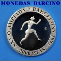 1990 - BARCELONA - 2000 PESETAS -ATLETA GRIEGO