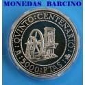 1992 - 5000 PESETAS -  V CENTENARIO - TONELIER