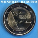 2016 - ESLOVENIA - 2 EUROS - INDEPENDENCIA