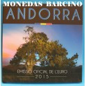 2015 ANDORRA -  EUROS- BLISTER - COLECCION