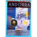 2015 - ANDORRA - 2 EURO - COINCAR -  ACUERDO ADUANA