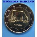 2016 -LETONIA - 2 EUROS - VACA LECHERA