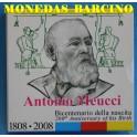 2008 - ITALIA - 5 EUROS -  ANTONIO MEUCCI