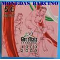 2009 - ITALIA - 5 EUROS -  GIRO DE ITALIA