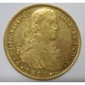 1810 -8 ESCUDOS- MEXICO  -FERNANDO VII-www.monedasbarcino.com