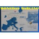 2003 - LUXEMBURGO - EUROS - BLISTER