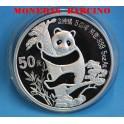 1987 -CHINA - ONZA - 50  YUAN - ONZA- OSO PANDA