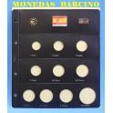 2010 - PARDO - HOJAS  COLECCION  EUROS 10 esp.