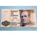 1979 - 5000 PESETAS - JUAN CARLOS I - BILLETE