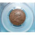 1842 - SEGOVIA - 4 MARAVEDIS - ISABEL II