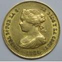 1864 - 40 REALES SEVILLA ISABEL II. www.monedasbarcinio.com