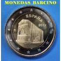 2017 -ESPAÑA - 2 EUROS - CATEDRAL  SANTA MARIA DEL NARANCO