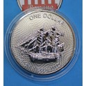 2017- COOK ISLANDS -  ONZA - DOLLAR - GALEON