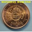 2012 -ITALIA - 2 EUROS - X ANIVERSARIO