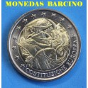 2005 - ITALIA - 2 EUROS -   COSTITUCION EUROPA
