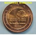 2014 - BELGICA - 2  EUROS -GUERRA MUNDIAL