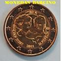 2011 - BELGICA - 2 EUROS- DIA DE LA MUJER