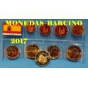 2017 - EUROS - ESPAÑA - COLECCION - ASTURIAS