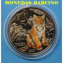 2017 - AUSTRIA - 3 EUROS - TIGER -  COLOR