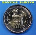 2016- SAN MARINO - 2 EUROS-  CASTILLO