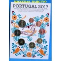 2017 - PORTUGAL - EUROS - BLISTER - SERIE CORAZON