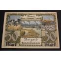 1922 - MEMEL - LITUANIA - 50 MARK - BILLETE- BANKNOTE