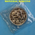 1989 - CHINA - ONZA -PLATA - OSO PANDA