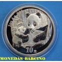 2005 - CHINA - ONZA - 10 YUAN -OSO PANDA - PLATA