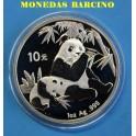 2007 - CHINA - ONZA - 10 YUAN -OSO PANDA - PLATA