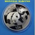 2008 - CHINA - ONZA - 10 YUAN -OSO PANDA - PLATA