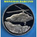 2002  -  SUIZA -  20 FRANCOS - REGA- HELICOPTERO