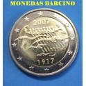 2007 - FINLANDIA - 2 EUROS - ONU