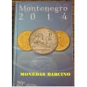 LIBRO -MONEDAS ITALIANAS - MONTENEGRO - CATALOGO