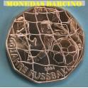 2004 AUSTRIA -5 EUROS -100 AÑOS FUTBOL