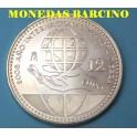 2008 - 12 EUROS -  PLANETA TIERRA- ESPAÑA