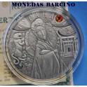 2008 - BELARUS - 20 ROUBLES - PLATA - ZIRCON - TURANDOT CUENTOS DE HADAS -