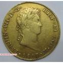 1817 GUATEMALA 8 ESCUDOS FERDINAND VII. www.monedasbarcino.com