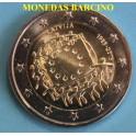2015 - LETONIA - 2  EUROS - BANDERA - EUROPA