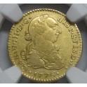 1776 - 1 ESCUDO -MEXICO- CARLOS III- CHARLES III