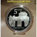 2010 - ESPAÑA - 5 EUROS - MADRID - PUERTA DE ALCALA - PLATA