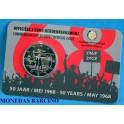 2018  - BELGICA - 2 EUROS -  MAYO 68 - COINCARD