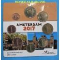 2017 - HOLANDA - EUROS - COLECCION -AMSTERDAN