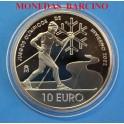 2002 -ESPAÑA - 10 EUROS - OLIMPICOS INVIERNO -PLATA