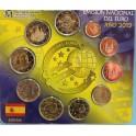 2012 -EUROS - ESPAÑA - BLISTER - COLECCION- 2 CONMEMORATIVAS