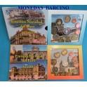 2012- ESPAÑA - 2 CARTERAS DE EUROS OFICIAL DE LAS COMUNIDAD DE MADRID Y MELILLA - BLISTER -